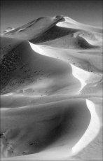 Silky sand.