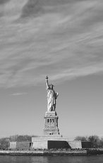 The Statue of Liberty.  New York, USA