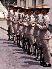 Kukri Parade.  Sek Kong Barracks, Hong Kong