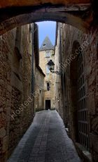 Street in Sarlat, France