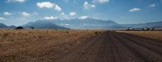 Towards the Namib Naukluft Desert