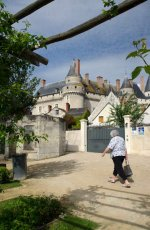 Visiting Langeais