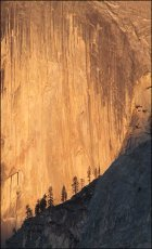 Yosemite cliff face, California, USA