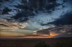 Sunset in Sesriem Valley 2