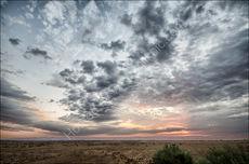 Sunset in Sesriem Valley