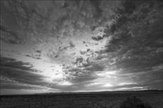 Sossus Dune Sunset mono