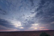 Sossus Dune sunset blue