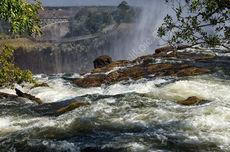 Across Victoria Falls