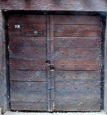 At death's door?