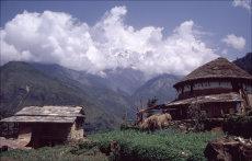 Himlayan Farm Building, West Nepal