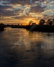 Kavango sunset