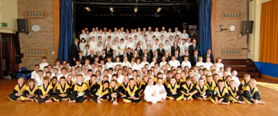 Bourne Tae Kwon Do club grading June 06
