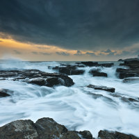 Godrevy Winter Seascape Art