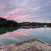 Roundwood Quay Frosted Dawn II