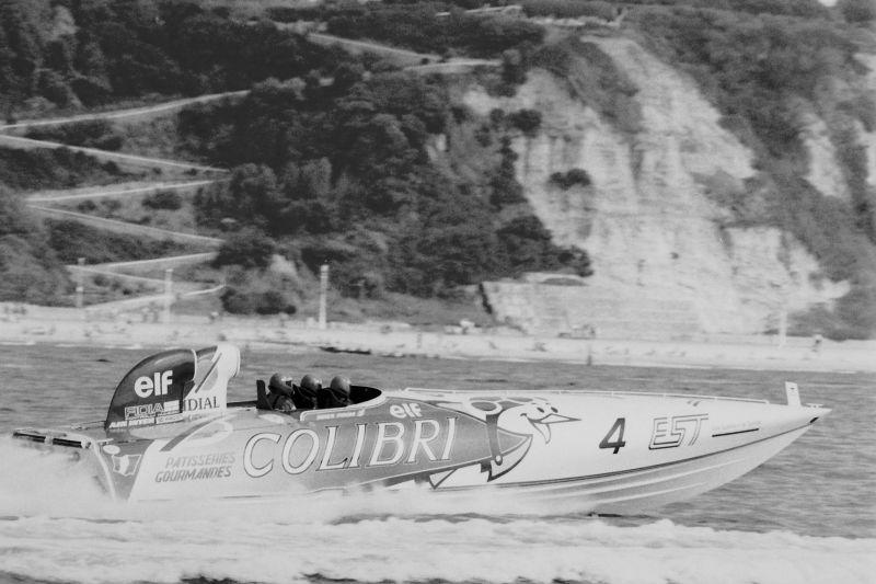 Didier Pironi in Colibri 4