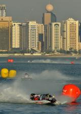 Sami Selio racing in the Abu Dhabi Grand Prix.
