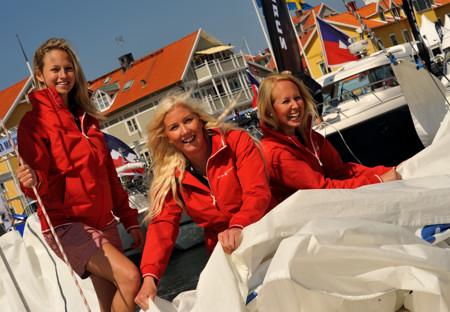 Sail Racing Girls