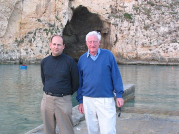 With architect Sir Colin Stansfield Smith