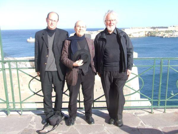 With Emilio Ambasz and Richard England