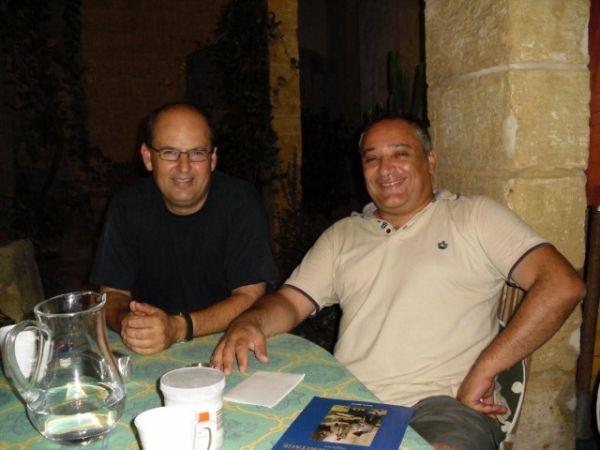 With architect Nino La Rocca