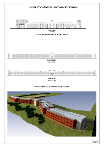 Project for a Vocational Secondary School, Paide, Estonia