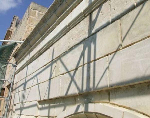 Restoration of facade, East Street, Valletta
