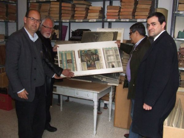 A visit to the National Archives in Rabat, Malta