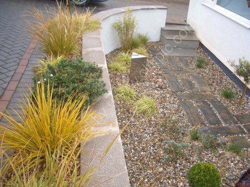 Precise and contemporary landscaping detail