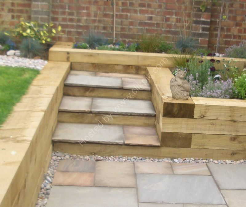 Herb bed steps