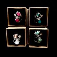 Wraparound Rings - adjustable size