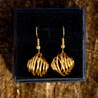 Cage swirl gold