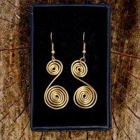 Spiral Swirl gold