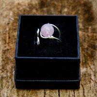 Jupiter Wrap - Rose quartz