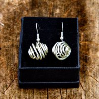 Cage swirl silver