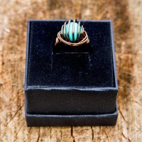 Cage Wrap - Turquoise