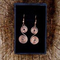 Spiral Swirl - rose gold