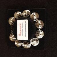 Silver Maigh Nulla bracelet.