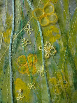 Field of Gold - detail - Sold