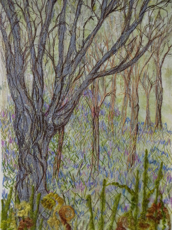 Bluebells at Brantwood SOLD