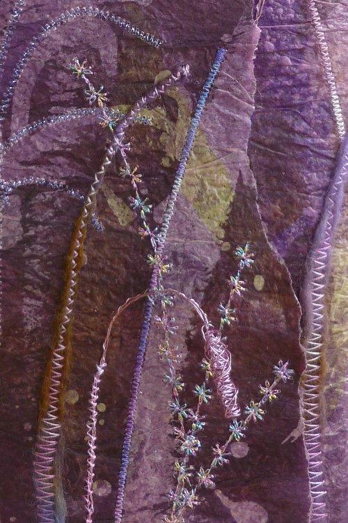Vase detail - SOLD