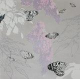 Butterflies and Buddleia - Pink
