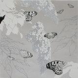 Butterflies and Buddleia - Silver