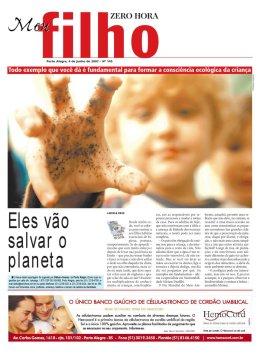 Meu Filho supplement - Zero Hora newspaper