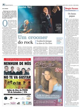 Segundo Caderno supplement - Zero Hora newspaper