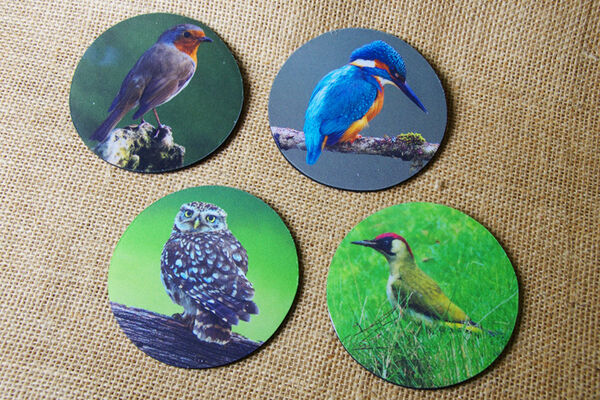 Fabric Coasters (Nature Images)
