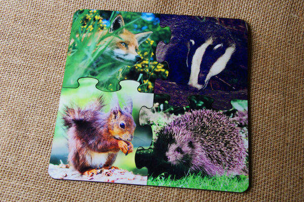 Puzzle Coasters - Native Mammals