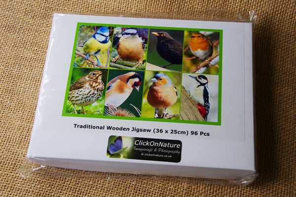 Jigsaw Puzzle - Garden Birds (96 Pieces)