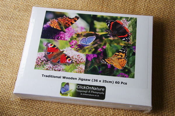 Jigsaw Puzzle - Butterfly Medley (60 Pieces)