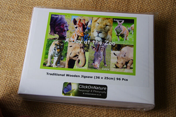 Jigsaw Puzzle - Day at the Zoo (96 Pieces)