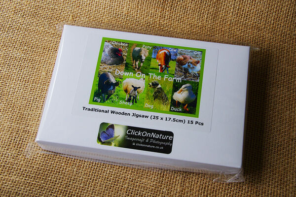 Jigsaw Puzzle - Down On The Farm (15 Pieces)